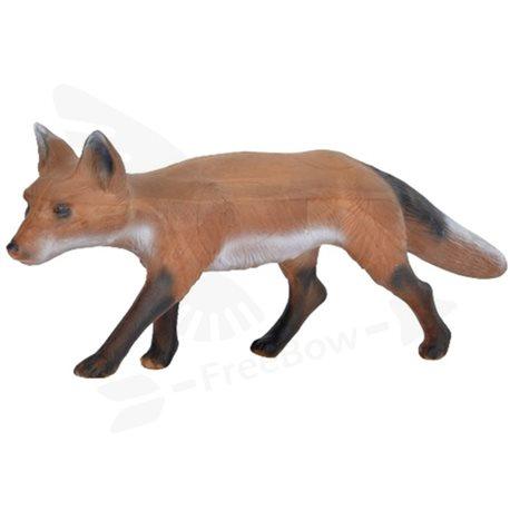 Liška plížící se