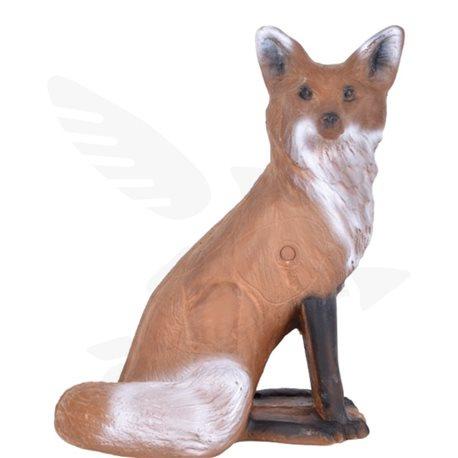 Liška sedící