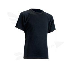 Triko T-SHIRT MERINO pánské M černá