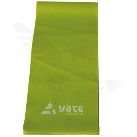 FIT BAND - 200x15cm, tuhý, zelený