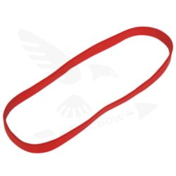 O guma tuhá červená - 1 ks