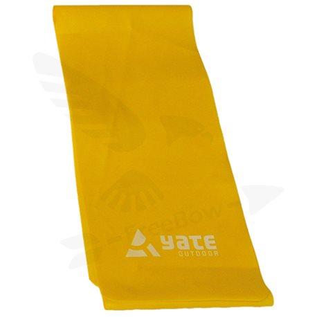 FIT BAND - 200x15cm, měkký, žlutý