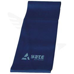 FIT BAND - 120x12cm, extra tuhý, modrý