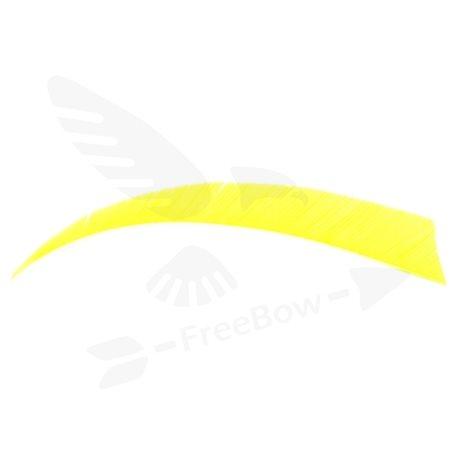 Perutě Shield - jednobarevné fluorescentní, žluté