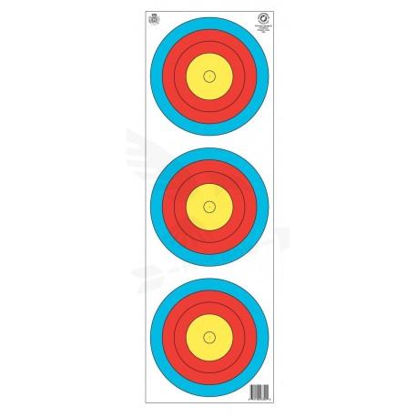 Terč halový FITA JVD 3x20 cm