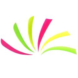 Perutě - jednobarevné fluorescentní