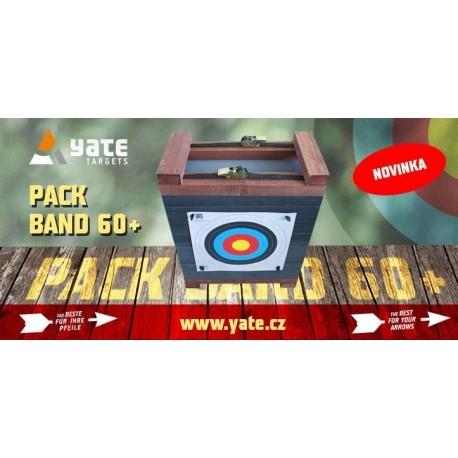 Terčovnice PACK BAND 60+