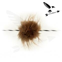 Tlumič na tětivy - bobří srst
