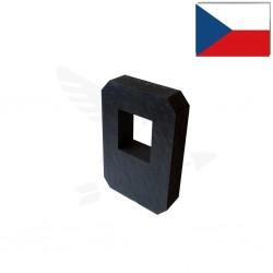 Terčovnice DOUBLE Polimix R 80×60 cm s výřezem