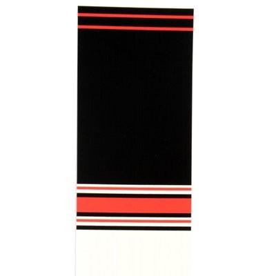 černá/červená/bílá