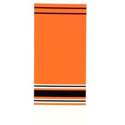 oranžová/černá/bílá